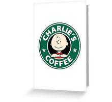 Charlie Brown Starbucks Greeting Card