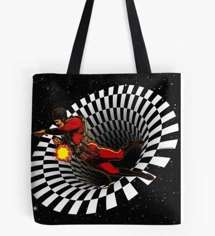 Black Hole Buck Tote Bag