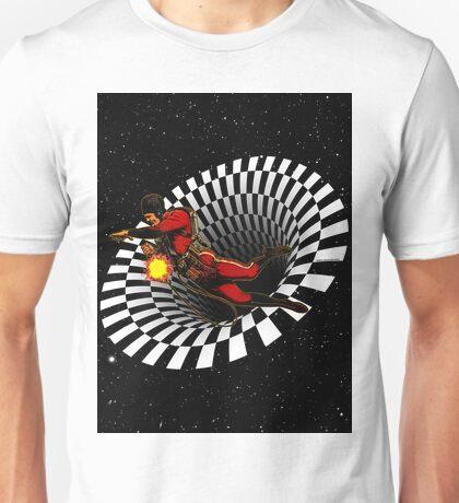Black Hole Buck Unisex T-Shirt