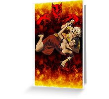 Devil Made Me Do It II Greeting Card