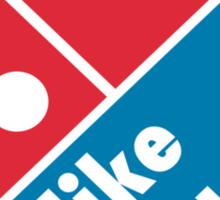 I like Burgers (Not Pizza) - Domino's Pizza Parody Sticker