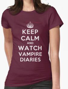 Keep Calm and Watch Vampire Diaries (DS) T-Shirt