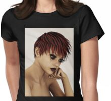 Amelia's Misery Womens Fitted T-Shirt