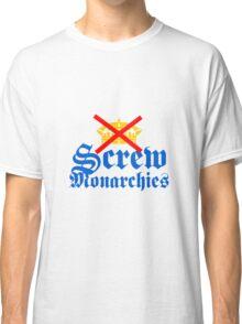 Screw Monarchies-Corona Extra Classic T-Shirt