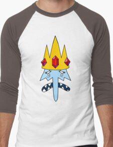 Ice King Face Men's Baseball ¾ T-Shirt