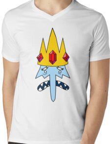 Ice King Face Mens V-Neck T-Shirt