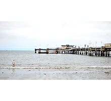 One Off the Pier Photographic Print