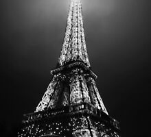 Midnight in Paris on New Years by Formatography