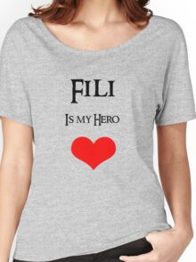 Fili is my Hero Women's Relaxed Fit T-Shirt