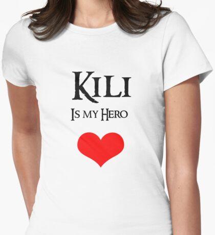 Kili is my Hero Womens Fitted T-Shirt