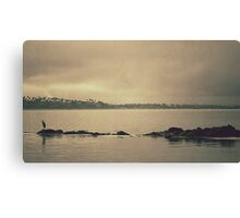 Gloomy Bay Canvas Print