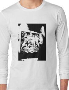 God Save the Queen. ER Crest- Transparent Long Sleeve T-Shirt