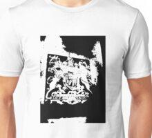 God Save the Queen. ER Crest- Transparent Unisex T-Shirt