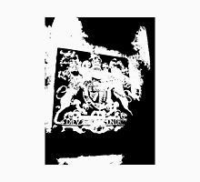 God Save the Queen. ER Crest- Transparent Unisex T-Shirt