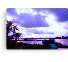 Patches of pink  Canvas Print