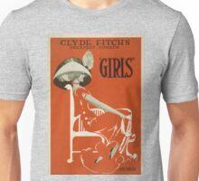 Vintage poster - Girls Unisex T-Shirt