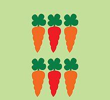 six Carrots cute! by jazzydevil