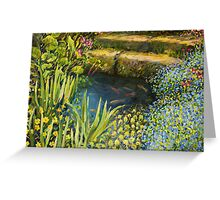 Colorful Silence Greeting Card