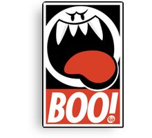 OBEY BOO! Canvas Print