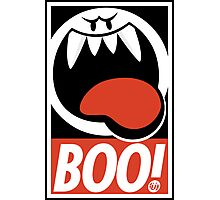 OBEY BOO! Photographic Print