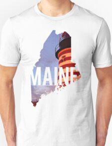 Maine Lighthouse Unisex T-Shirt