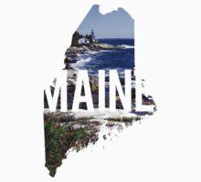 Maine Coast Baby Tee