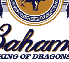 Bahamut, King of Dragons Sticker