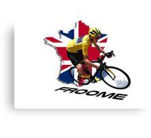 2016 Tour de France Canvas Print