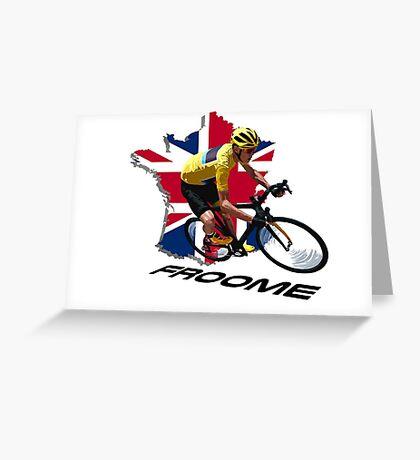 2016 Tour de France Greeting Card