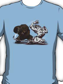 Bear Vs Snow Tiger T-Shirt