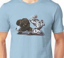 Bear Vs Snow Tiger Unisex T-Shirt
