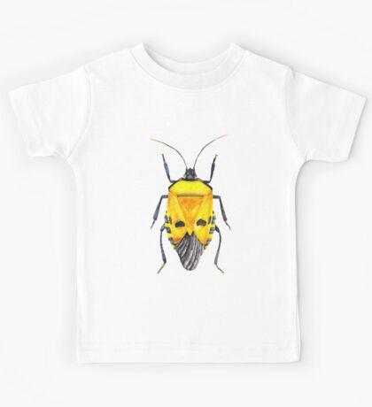 Yellow Bug Kids Tee