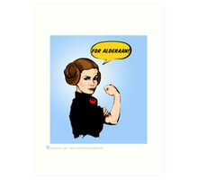She Can Do It!  Art Print