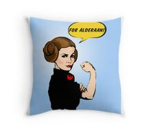 She Can Do It!  Throw Pillow