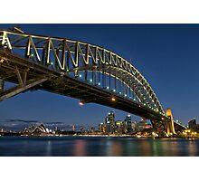 Harbour Bridge, Sydney, Australia Photographic Print