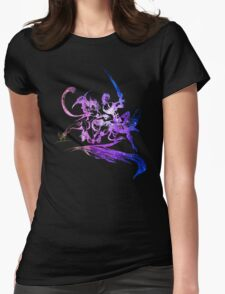 Final Fantasy X-2 logo universe Womens Fitted T-Shirt