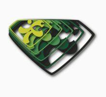 Super Runner(s) III | Green by Lin Da