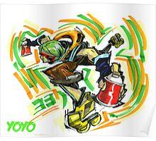 Jet Set Radio fanart : Yoyo Poster