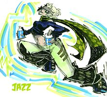 Jet Set Radio fanart : Jazz by Rafchu