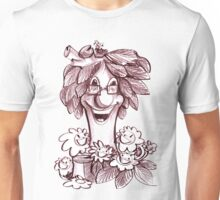 Tree with friend flower Unisex T-Shirt