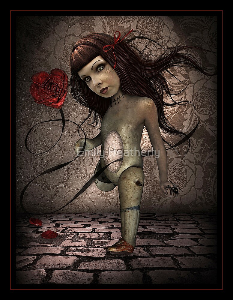 Toy- Broken Doll by Emily Heatherly