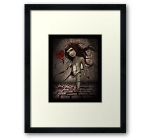 Toy- Broken Doll Framed Print