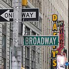 New York Street Signs by FangFeatures