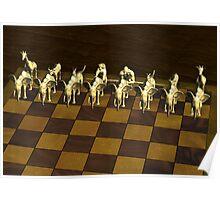 Chess Animals Poster