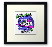 Hoverboards Back To The Future Framed Print