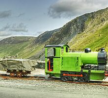 The Green Train by Jamie  Green