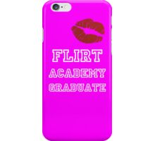 Flirt Academy iPhone Case/Skin