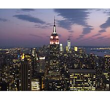 Empire State Building, New York Photographic Print
