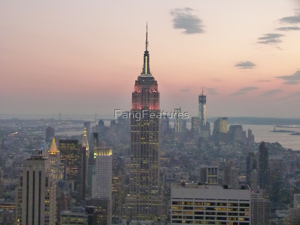 Empire State Building, New York by FangFeatures