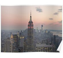 Empire State Building, New York Poster